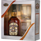 Chivas Regal 12 | Blended Scotch Whiskey  NV / 750 ml. 2 glass gift set